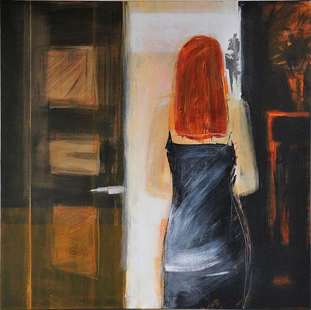 Acryl auf Leinwand / Grösse 100 x 100 cm