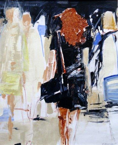 Arte Basel 50x60 cm, Acryl