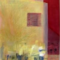 Meet you in the city, 80x100 cm, Acryl, Leinwand