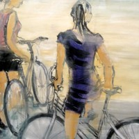 Girls, 100x100 cm, Acryl, Leinwand